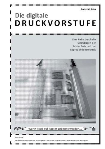 """Coverseite der Broschüre """"Die digitale Druckvorstufe"""""""