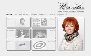 Screenshot www.utasax.de